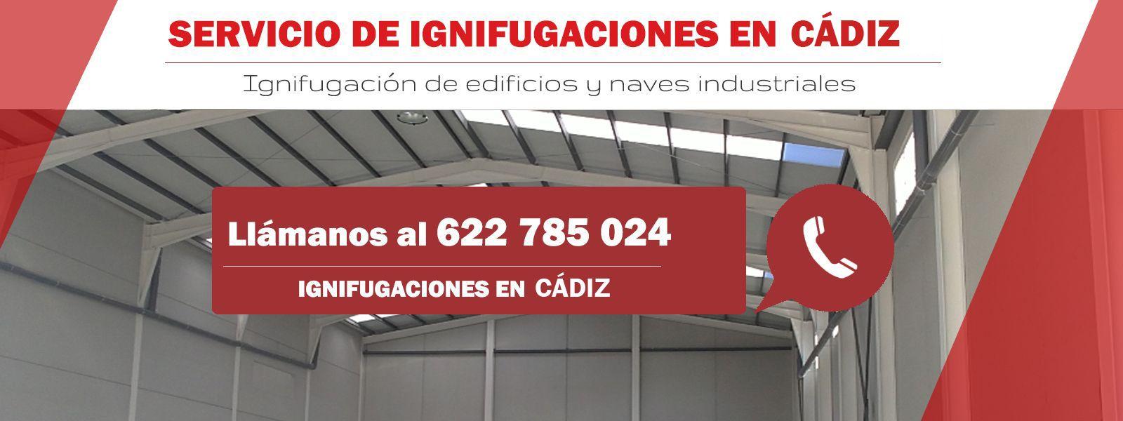 Ignifugación de naves y edificios en Cádiz