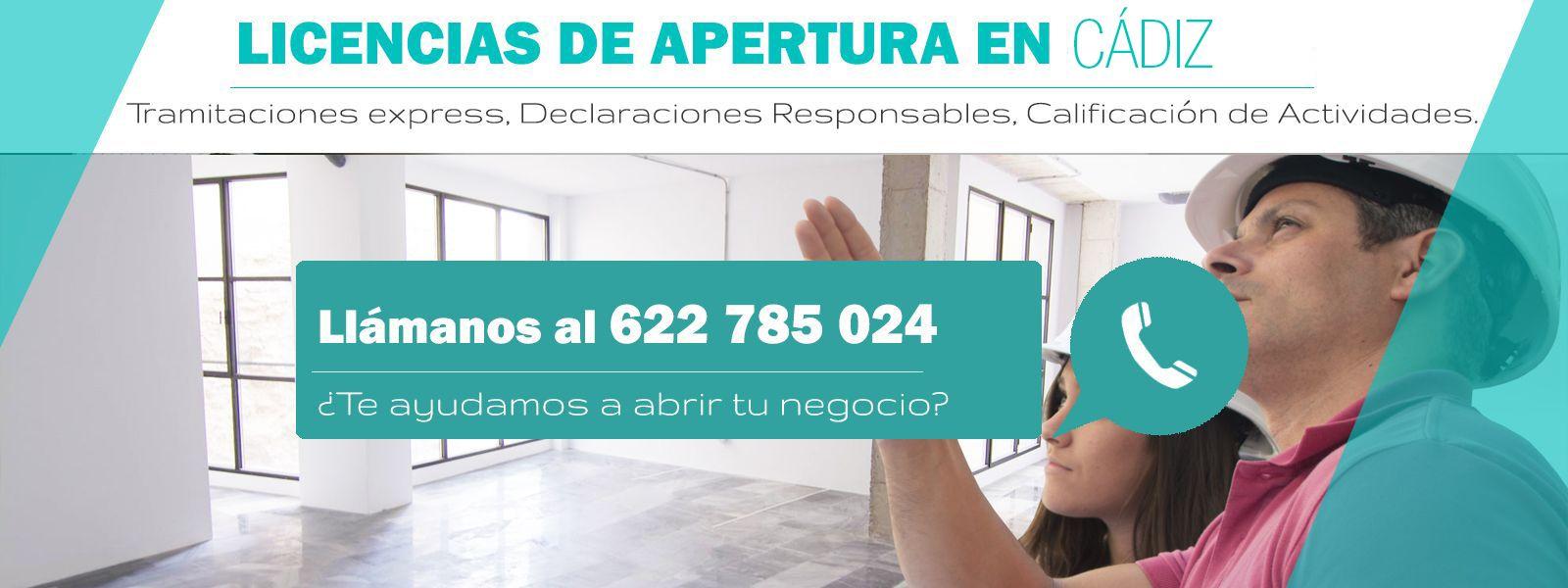 Licencias Apertura Cádiz
