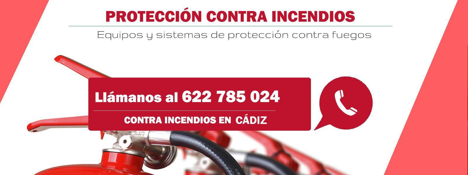 Protección contraincendios en Cádiz